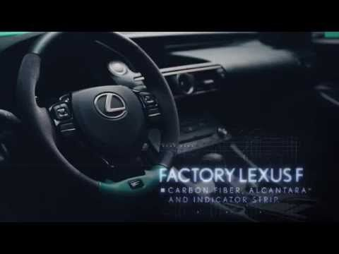 Go Behind the Scenes of the #Instabuilt Lexus RC F