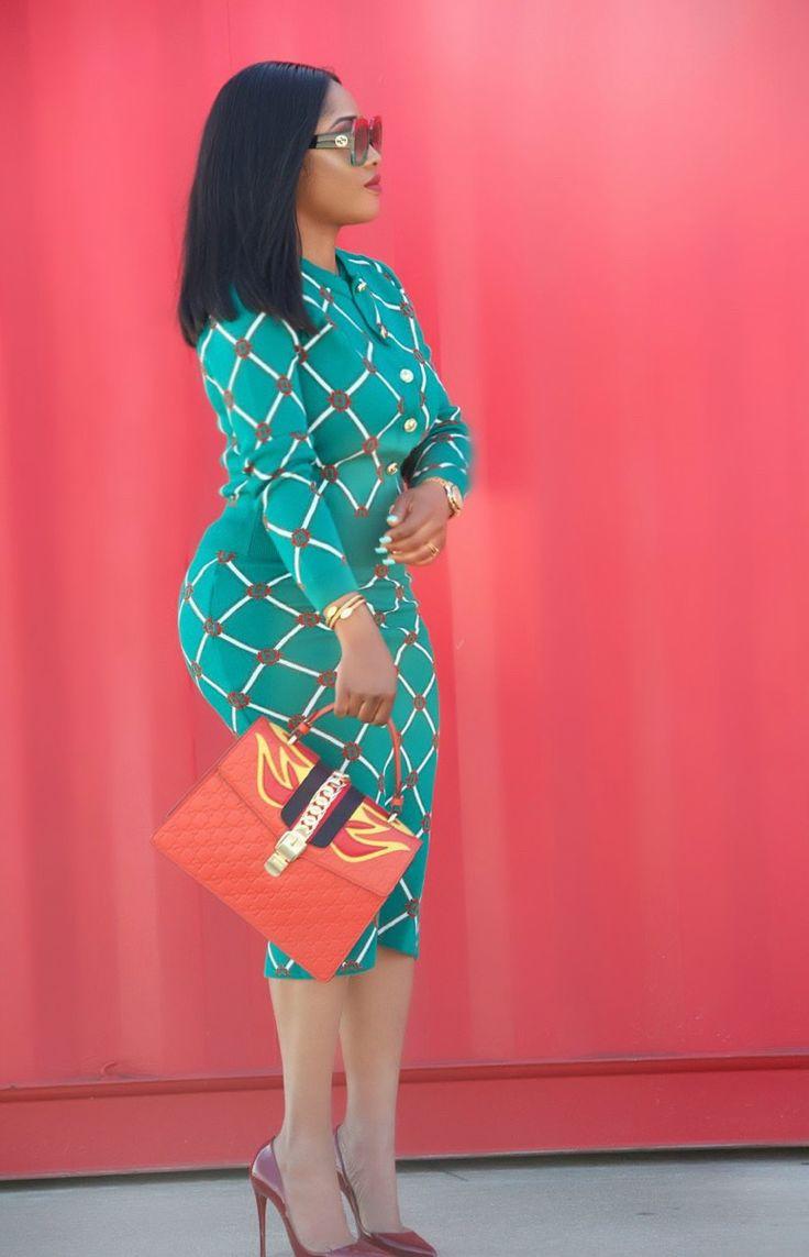 Toun 'AJ': Made to set | Fashion, Dresses, Wrap dress