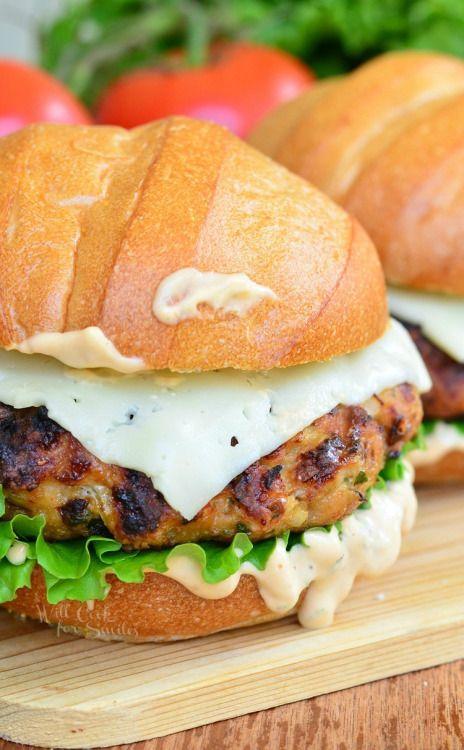 Spicy Chipotle Chicken BurgerReally nice recipes. Every  Mein Blog: Alles rund um die Themen Genuss & Geschmack  Kochen Backen Braten Vorspeisen Hauptgerichte und Desserts
