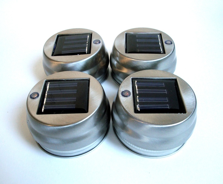 Solar Lid Light Wholesale Part - 31: Mason Jars Wholesale | Mason Jar Solar Light Lantern LIDS Set Of 4 By  TheCountryBarrel