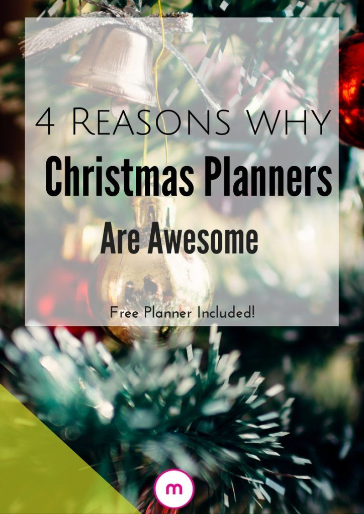 4 reasons why christmas planners are awesome planners for Why christmas is the best holiday