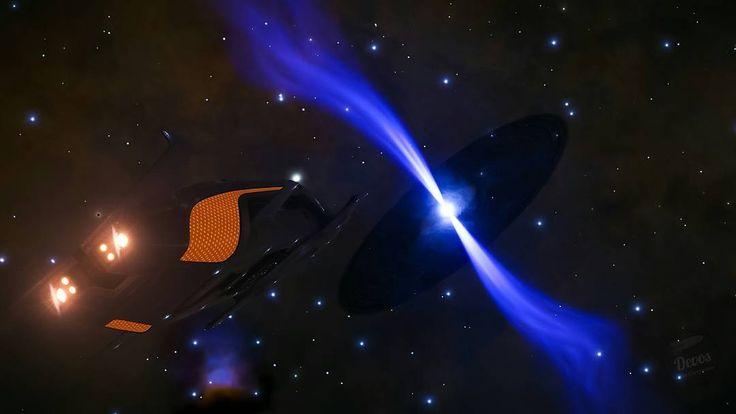 Ringed Neutrón Star @DavidBraben #elitedangerous #elitedangeroushorizons #cmdrdevos_esp #wondersystem #neutronstar #asteroidbelt