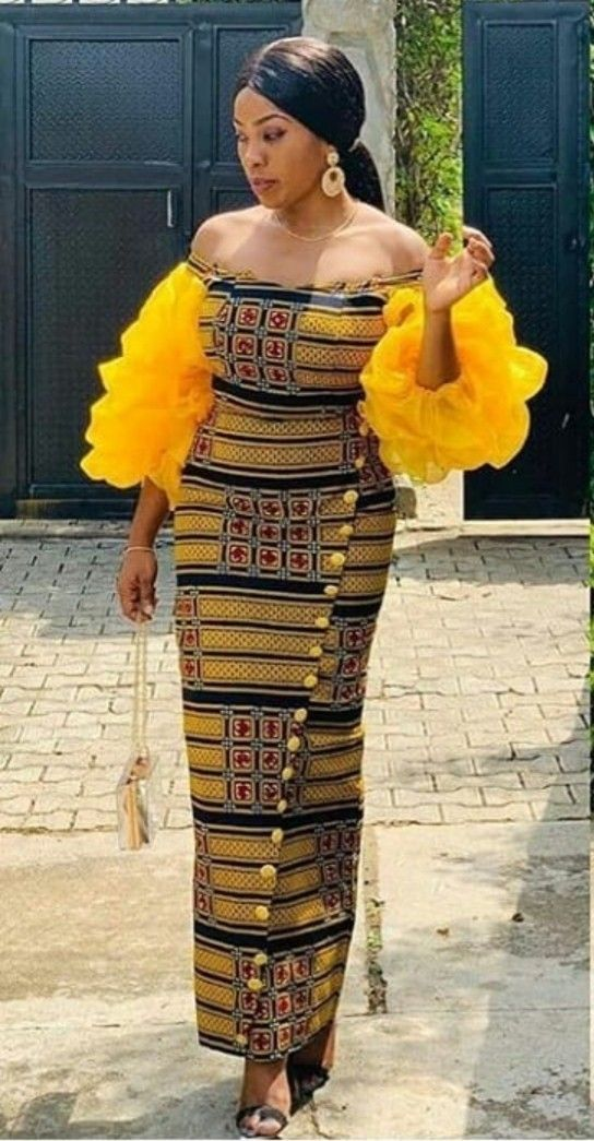 2019 Lovely And Stylish  Ankara  Styles for Pretty Ladies