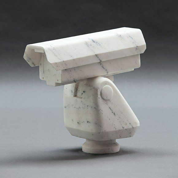 "Ai Weiwei MARBLE SCULPTURES  ""Surveillance Camera"" 2010"