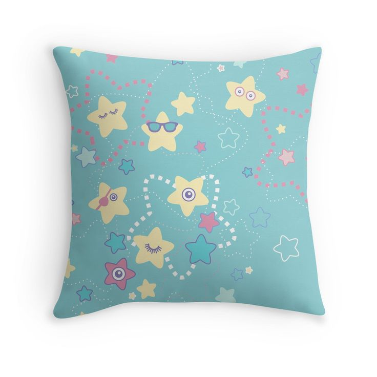 Cute Crazy Pastel Night Stars