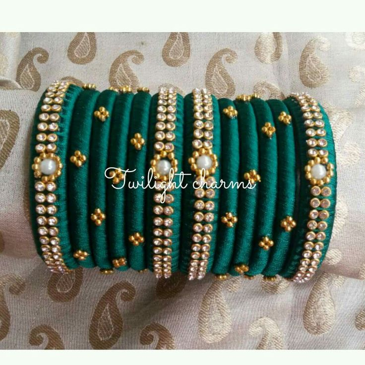 on pls images silk whatsapp indian munnyvunnam order to jewellery thread pinterest bangles best