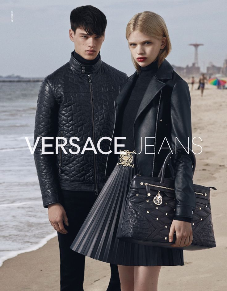 Filip Hrivnak Fronts Versace Jeans Fall/Winter 2015 Campaign