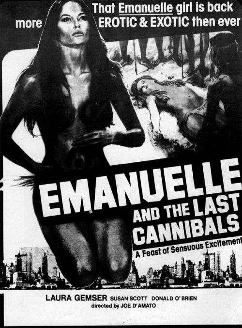 emanuelle and the last cannibals ad slick artwork