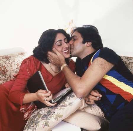 Vinod Mehra and Bindiya