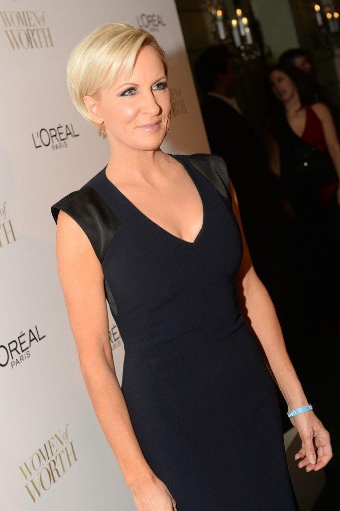 Loving her hair...Mika Brzezinski                                                                                                                                                                                 More