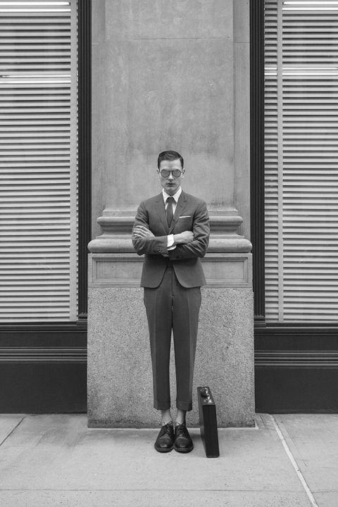 Image of Thom Browne 2014 Fall Eyewear Collection