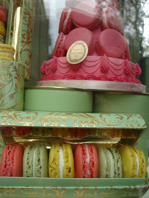 ... Pâtisserie  Pinterest  Macarons, Gâteaux de mariage et Fenêtre