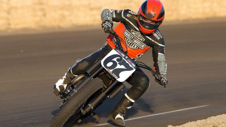 Harley-Davidson introduces new flat-track racing bike - Autoblog