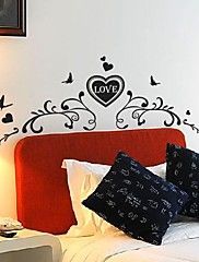 Wall Stickers Wall Decals,  Modern Romantic lov... – AUD $ 42.89