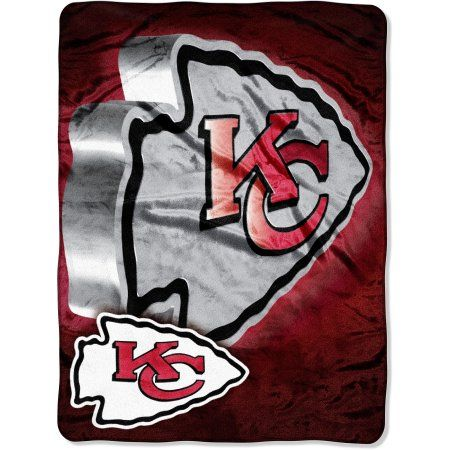 License Nfl Chiefs 60x80 Micro Raschel Blanket, Red