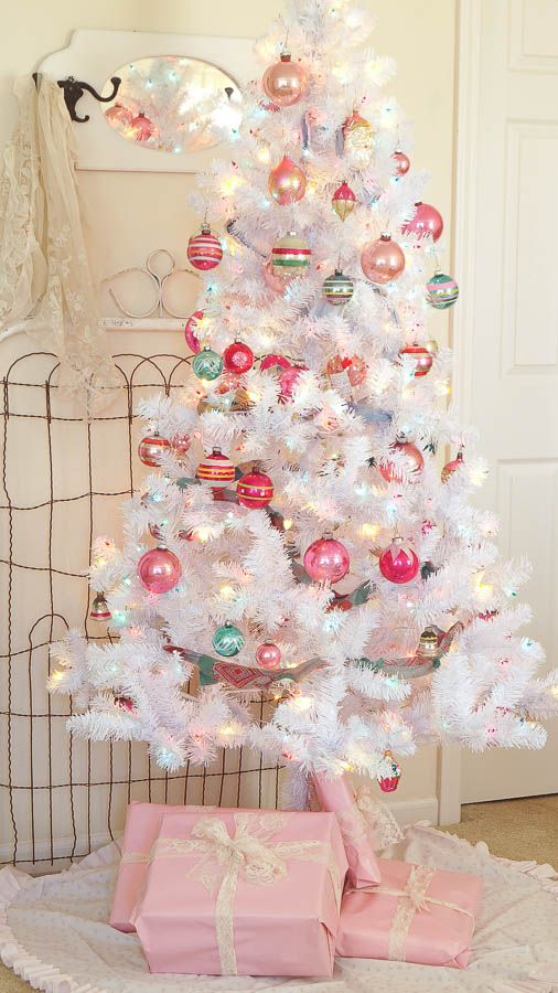 holiday master bedroom - Walmart Christmas Tree Skirts