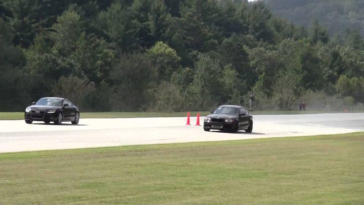 Nice Audi: BMW 135 vs Audi TT...  Automotive Check more at http://24car.top/2017/2017/04/25/audi-bmw-135-vs-audi-tt-automotive/