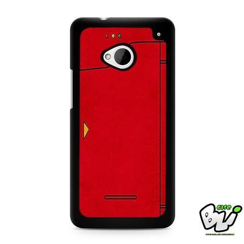 Red Pokedex Pokemon HTC G21,HTC ONE X,HTC ONE S,HTC ONE M7,HTC M8,HTC M8 Mini,HTC M9,HTC M9 Plus,HTC Desire Case