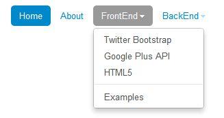 Twitter Bootstrap nav, tabs and pills tutorial