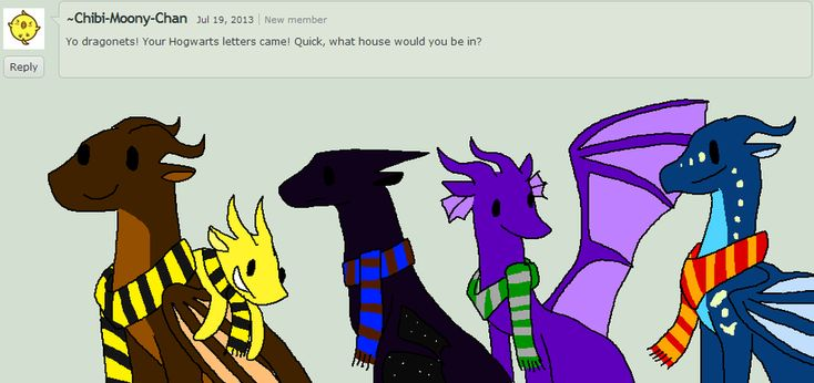 The Dragonets at Hogwarts