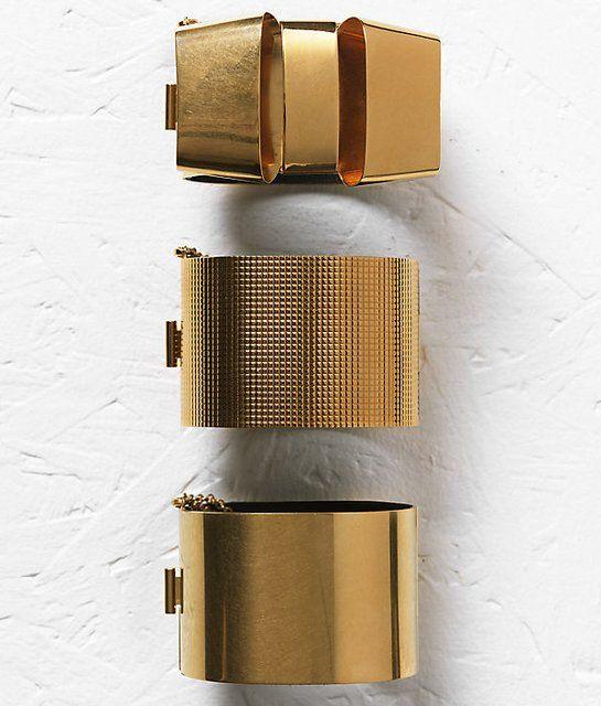 Fancy - Brass Bracelets by Celine