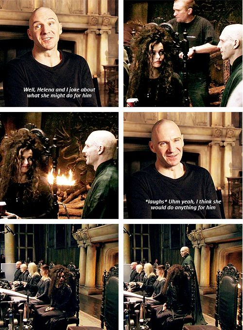 bellatrix and voldemort relationship to harry