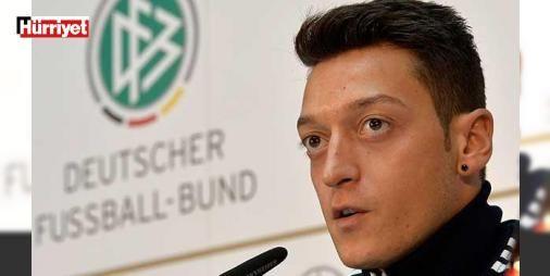 Mesut Özil'den ayrımcılık itirafı: İngiltere Premier Lig ekibi Arsenal'ın Alman milli futbolcusu Mesut Özil, Türk kökeni yüzünden Almanya'da girdiği altyapı seçmelerinde haksızlığa uğradığını söyledi.