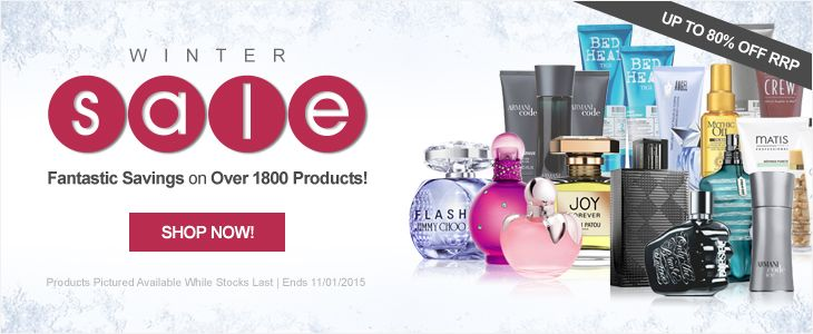 Winter Sale Banner from All Beauty #Web #Digital #Banner #Online #Marketing #Beauty #Winter #Sale