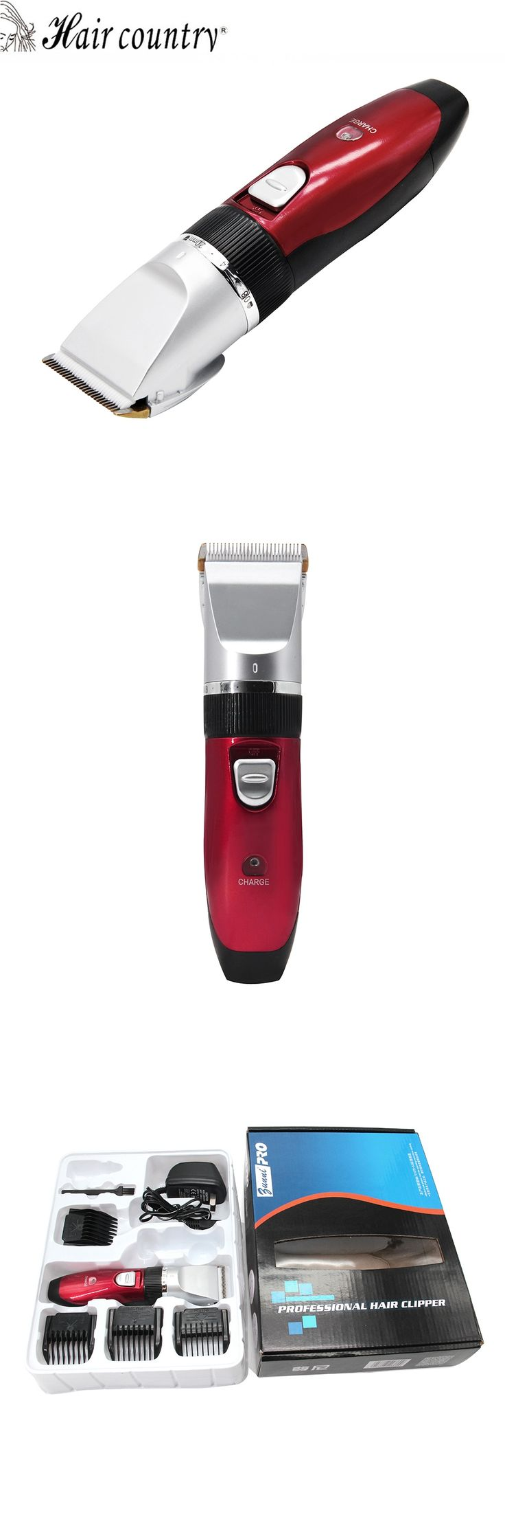Professional Hair Clipper and Hair Trimmer Rechargeable Hair Cutting Machine Beard Trimmer and Haircut Machine For Men for pet