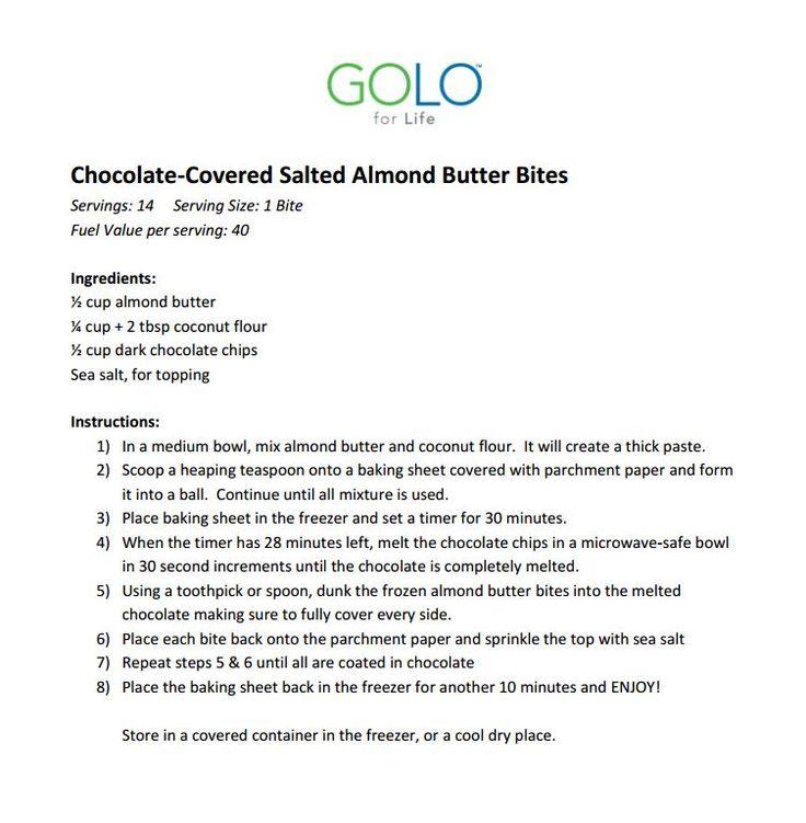 GOLO Sweet Treat