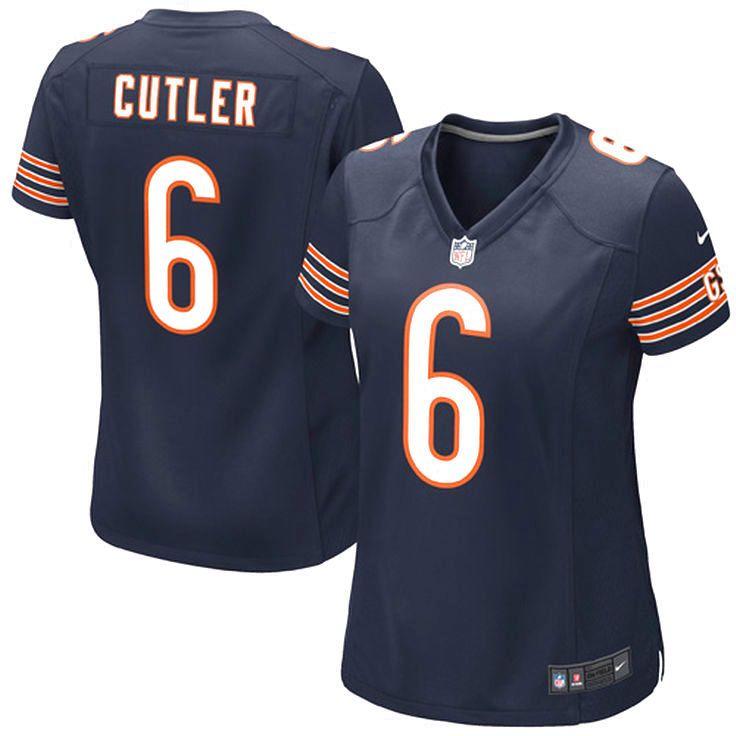 Jay Cutler Chicago Bears Nike Women's Game Jersey – Navy Blue - $94.99