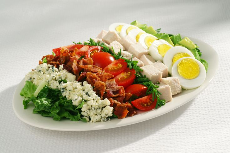 Cobb Salad Sandwiches vs. The Original Cobb Salad - And the Winner Is ... - The Heritage Cook ®