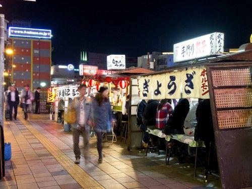 """Yatai"". Looking for more information aboout Fukuoka? Go Visit Fukuoka City Photo Gallery. http://showcase.city.fukuoka.lg.jp/"