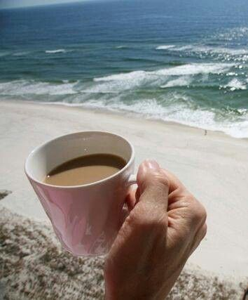 Coffee & The Beach! Must be heaven!!!