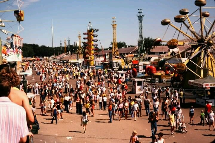 Minnesota State Fair 1970s I Saw Sonny And Cher And Baby