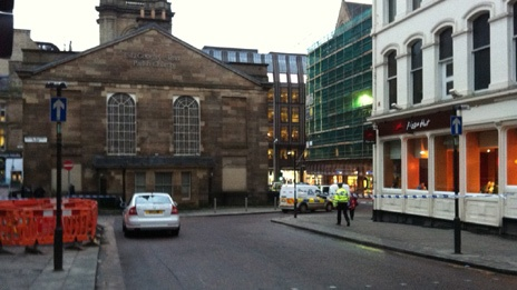 Armed police at restaurant siege in Glasgow City Centre