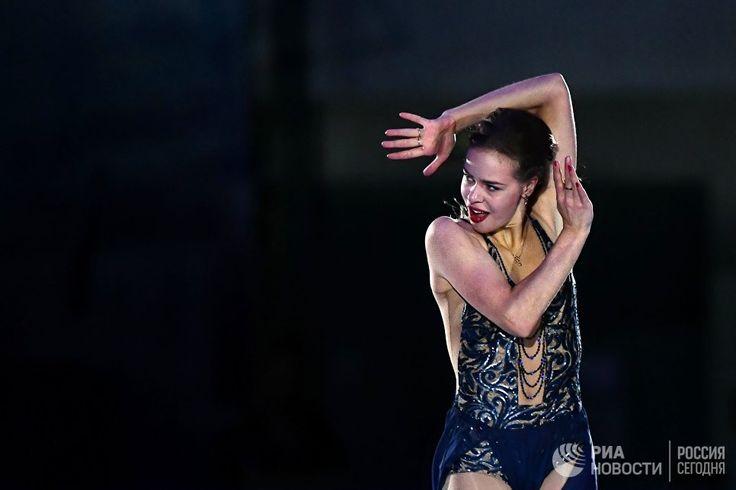 Anna Pogorilaya (Russia), who took the first place in women's singles.  RIA Novosti https://ria.ru/sport/20161105/1480731184.html