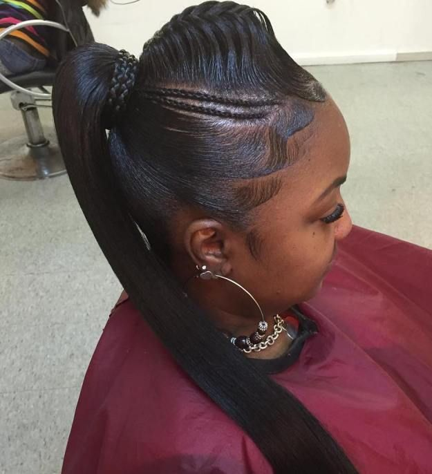 30 Classy Black Ponytail Hairstyles Black Ponytail Hairstyles