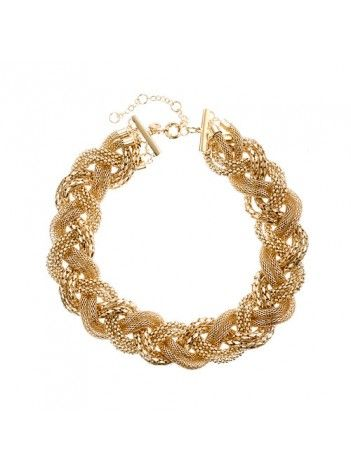 J Crew Long Woven Necklace $40