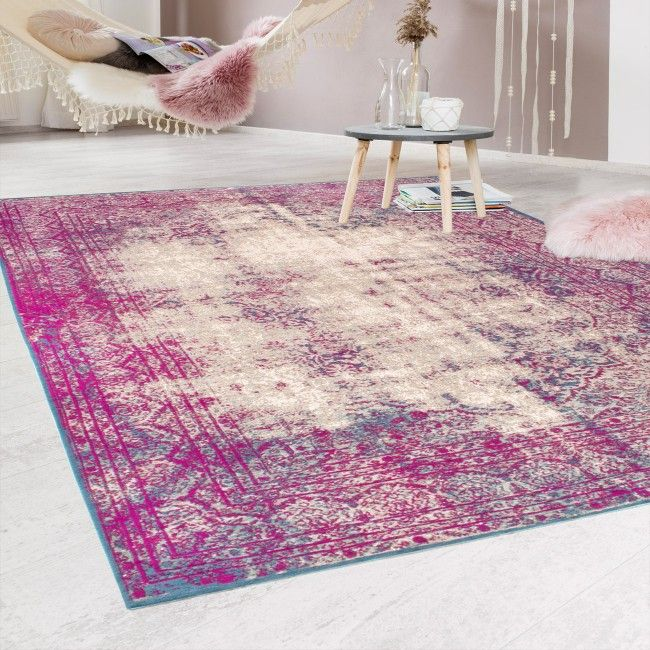 Antique Pink-Beige Rug by Luxor Living has indeed got eye-catching & breathtaking design aspects making it truly an antique collection. Machine woven in Egypt, this rug is manufactured using acryl, chenille, polyester and cotton yarn to provide it with features like durability, lustrous sheen, stain & fade resistant and is easy to clean.  #rugs #homedecor #carpet
