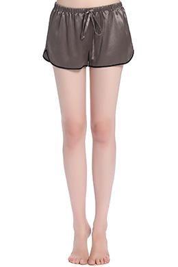 Prezzi e Sconti: #Pantaloncini di seta da donna con specifico  ad Euro 85.00 in #Lilysilk #Grigio scuro