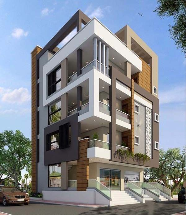 Amazing Apartment Building Facade Architecture Design Facade