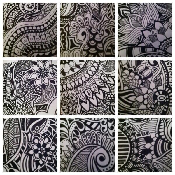 Zentangle - Black & White