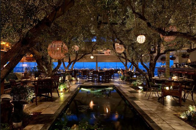 Soho House in Hollywood will give you a very 'al fresco' feeling.