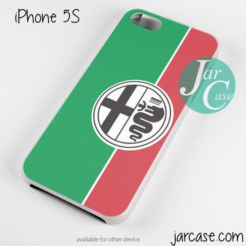 Green White Alfa Romeo Phone case for iPhone 4/4s/5/5c/5s/6/6 plus