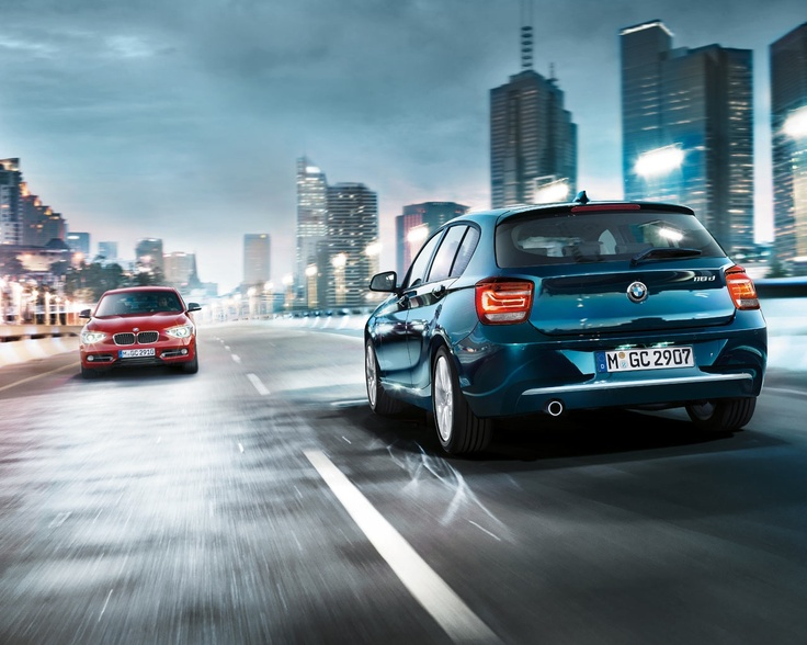 The brand New BMW 118D - Blue or Red ? #bmw #sixt