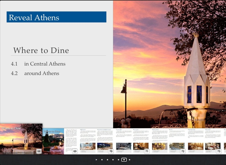 Reveal Athens - Where to Dine