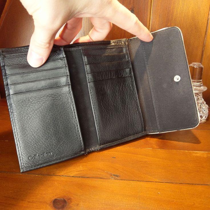 Debenhams Womens Leather Purse, Coin, Credit Card & Paper Money Section #Debenhams #CoinPurse