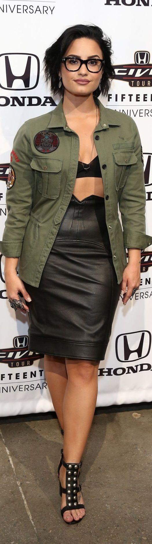 Demi Lovato – 2016 Honda Civic Tour Artists Announcement in New York City