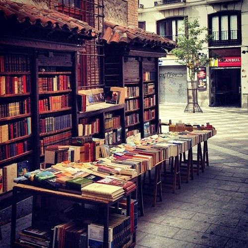 So many book stores (used or new) Beyoglu - Istanbul